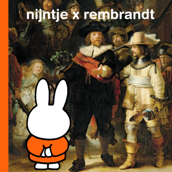 Nijntje x Rembrandt