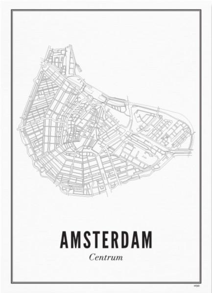 Print Amsterdam Centrum A3