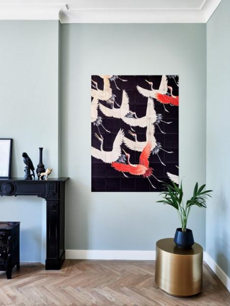 IXXI | Cranes black and orange