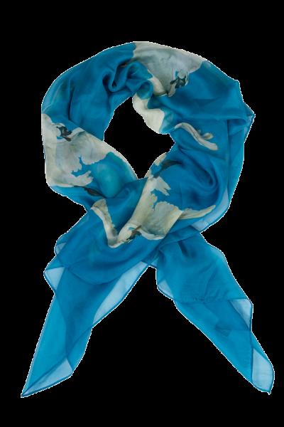Zijden sjaal chiffon Bedreigde Zwaan