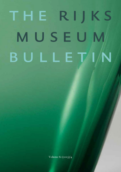2013-4 The Rijksmuseum Bulletin