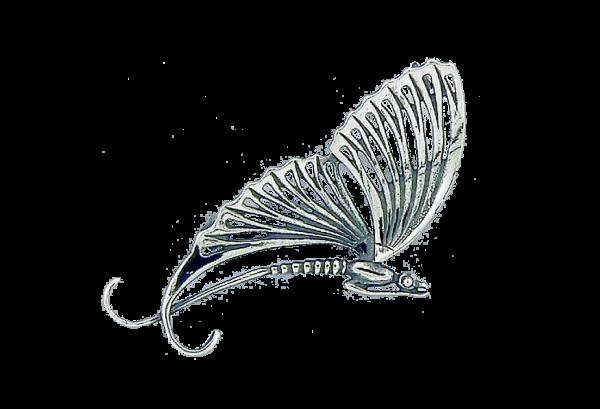 Broche Libelle Art Nouveau