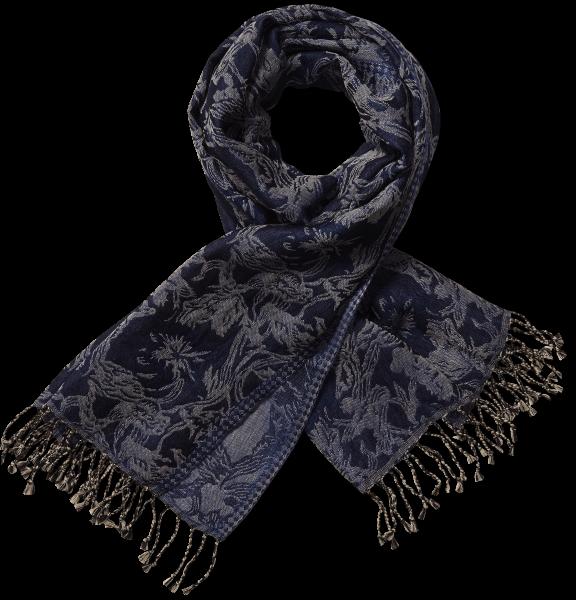 Wollen sjaal Tulpen