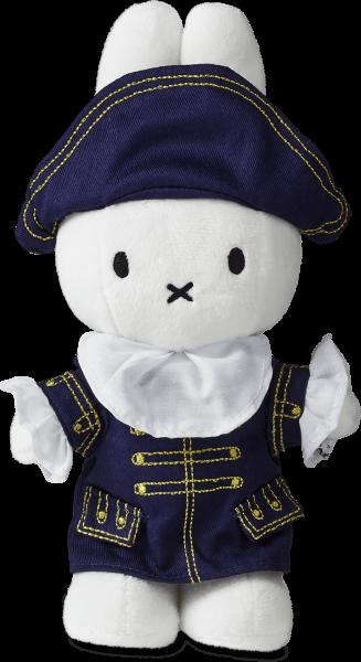 Miffy as the Dutch admiral Michiel de Ruyter
