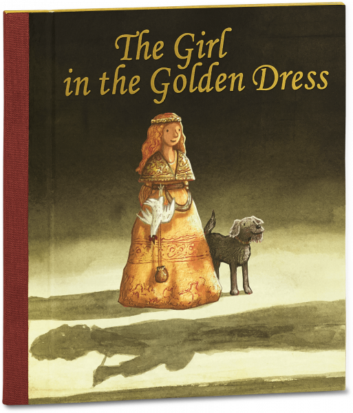 The Girl in the Golden Dress