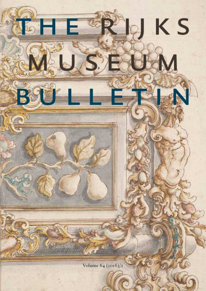 2016-2 The Rijksmuseum Bulletin