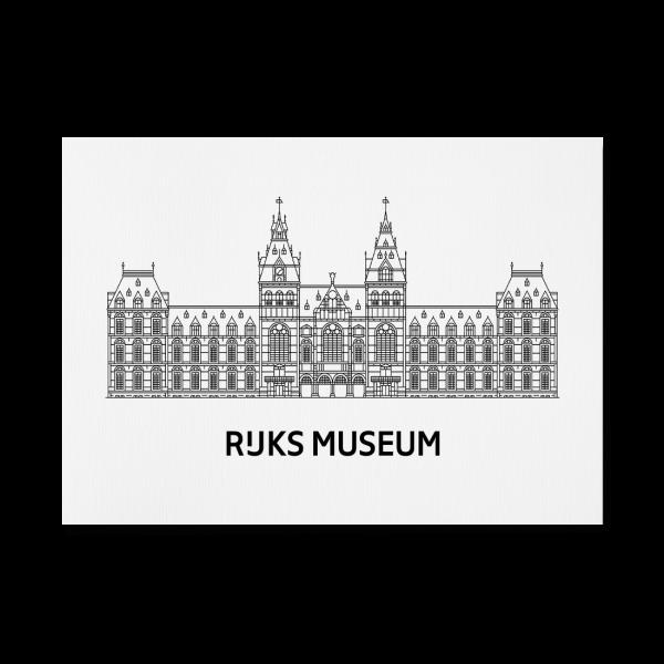 Print Rijksmuseum Logo A4