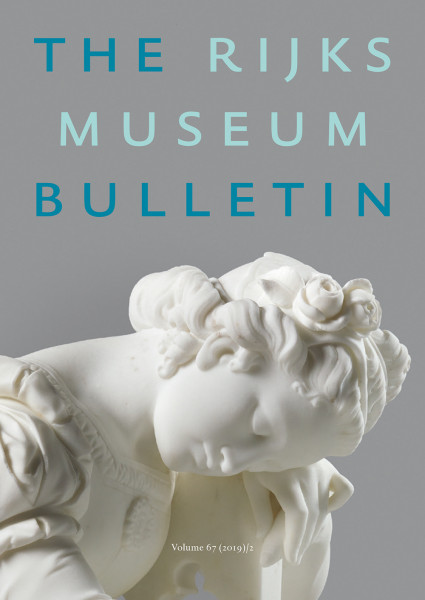 2019-2 The Rijksmuseum Bulletin