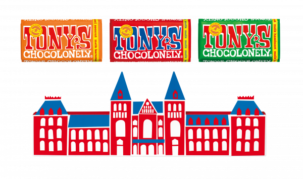 Tony's Chocolonely 3pack Melkchocolade
