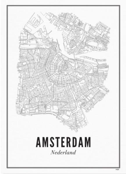 Print Amsterdam A3
