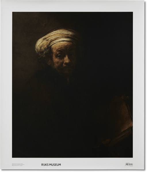 Canvas 'Zelfportret Apostel Paulus'