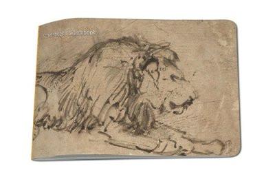 Schetsboek Rembrandt Leeuw A5