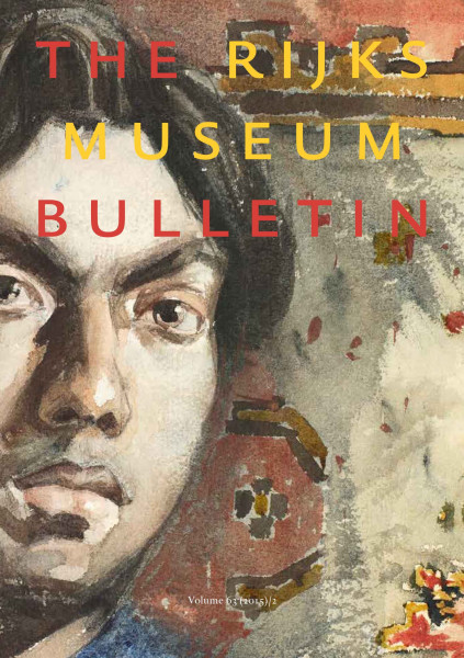 2015-2 The Rijksmuseum Bulletin