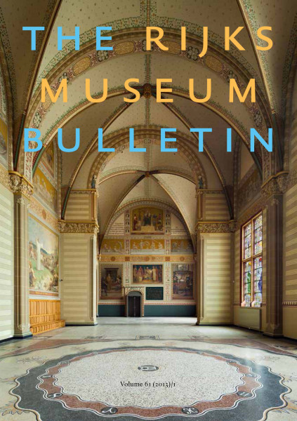 2013-1 The Rijksmuseum Bulletin