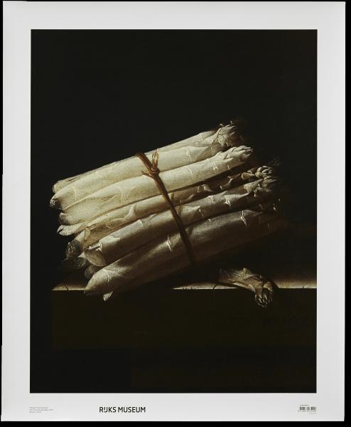 Canvas 'Stilleven met asperges'