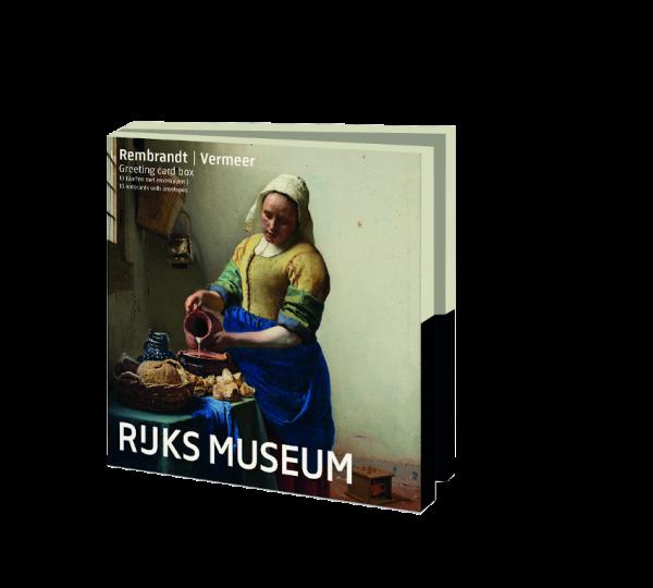 Kaartenmapje: Rembrandt|Vermeer