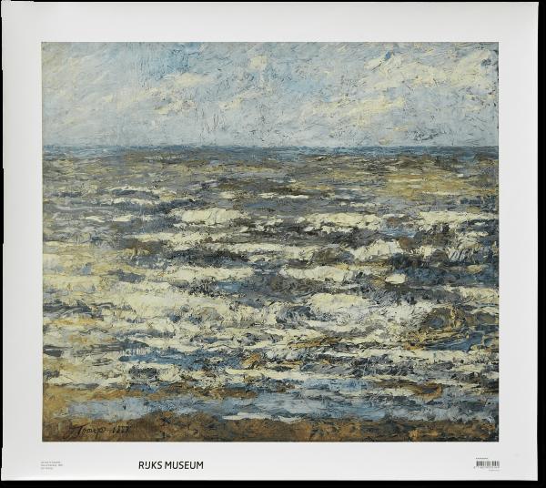 Canvas I De zee te Katwijk