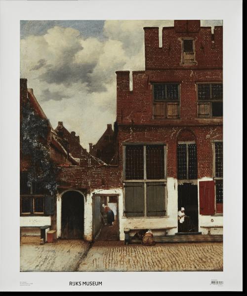 Canvas 'Het straatje'