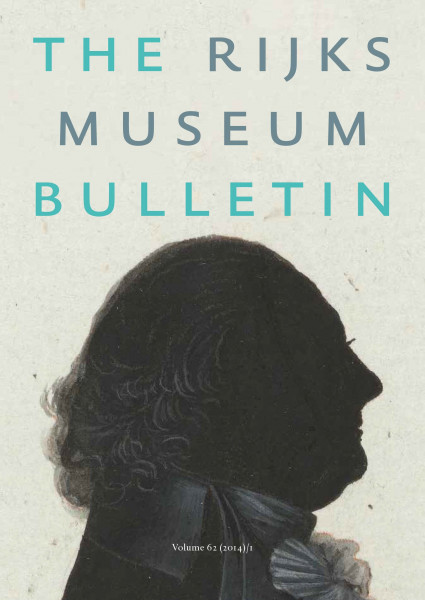 2014-1 The Rijksmuseum Bulletin