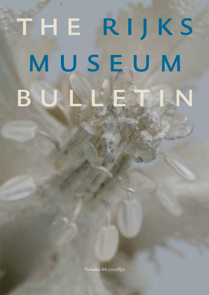 2018-1 The Rijksmuseum Bulletin