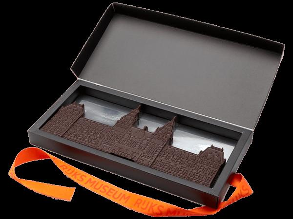 Luxe tablet van bittere chocolade