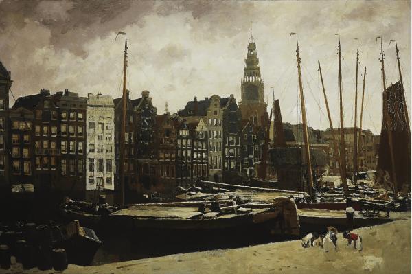 XL poster | The Damrak, Amsterdam | 50x70cm