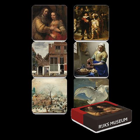 Onderzetters | Meesterwerken 17e eeuw