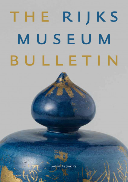 2017-4 The Rijksmuseum Bulletin