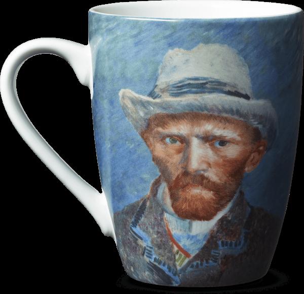 Mok Zelfportret van Gogh