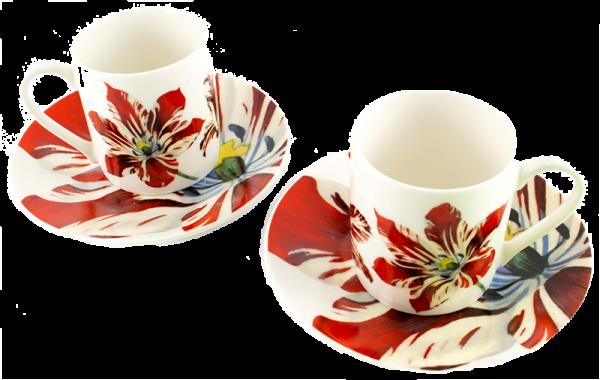 Espresso Set Tulpen