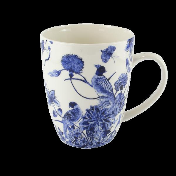 Mok Delfts blauw Vogel