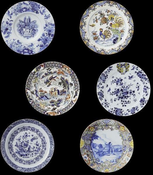 Coasters | Delft Blue Plates
