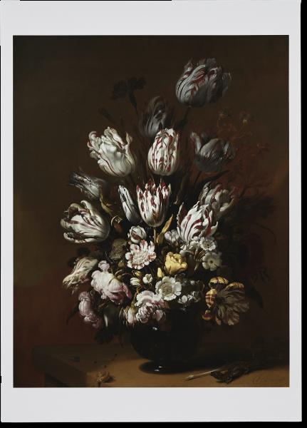 Poster 'Stilleven met bloemen'