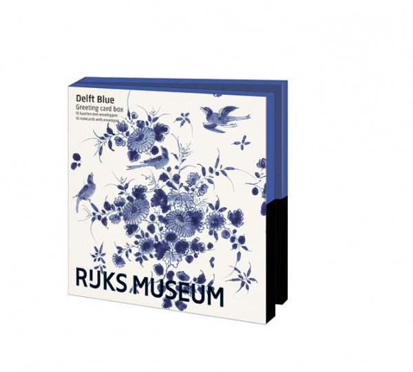 Kaartenmapje: Delftsblauw
