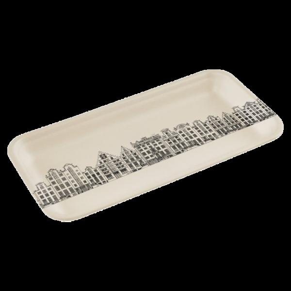 Bamboe dienblad M Grachtenpandjes