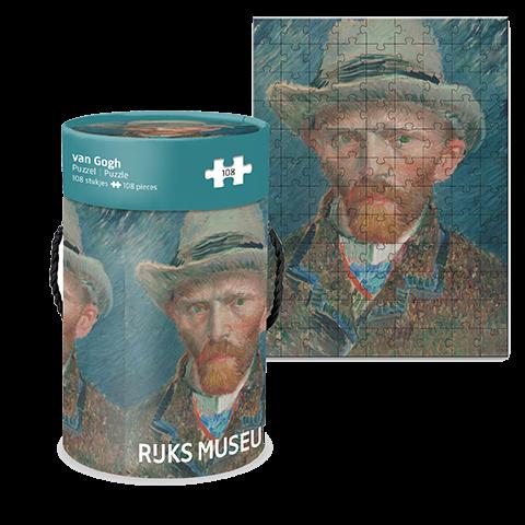 Puzzelkoker Zelfportret Van Gogh