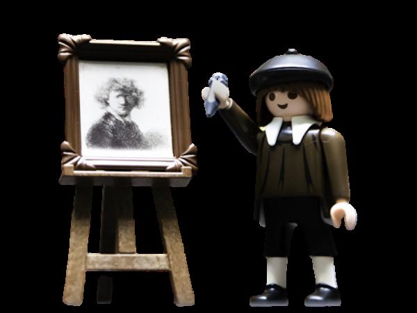 Playmobil | Rembrandt Self-Portrait