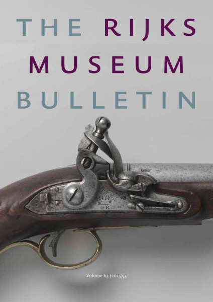 2015-3 The Rijksmuseum Bulletin