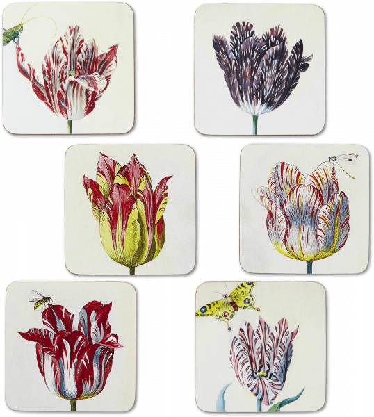 Coasters l Flamed Tulips