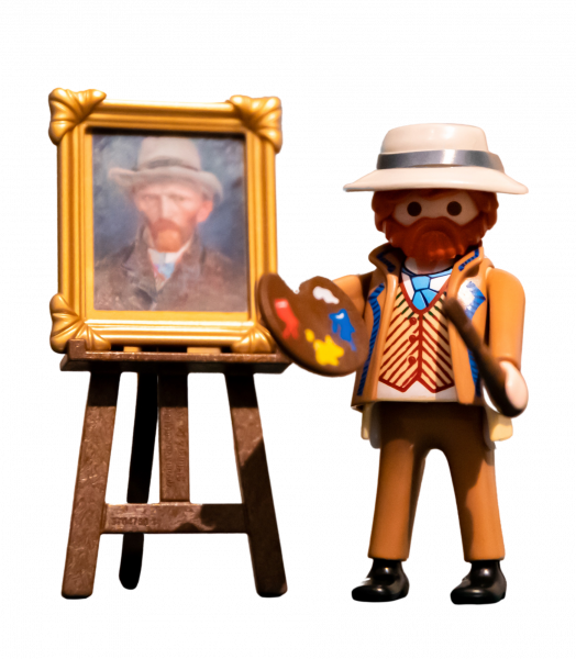 Playmobil | Self-Portrait Van Gogh