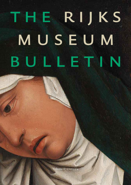2019-4 The Rijksmuseum Bulletin