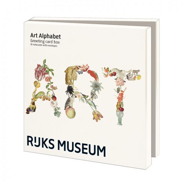 Kaartenmap Art Alfabet