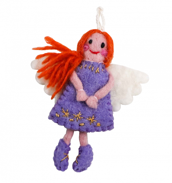 Vilten Engel paars