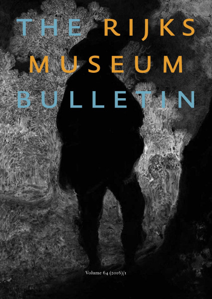 2016-1 The Rijksmuseum Bulletin