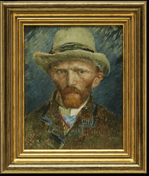 Oleografie | Zelfportret Van Gogh