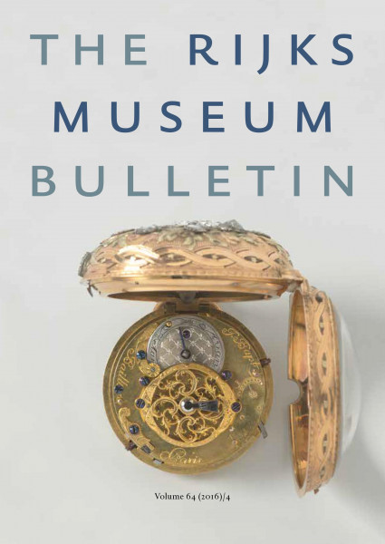 2016-4 The Rijksmuseum Bulletin