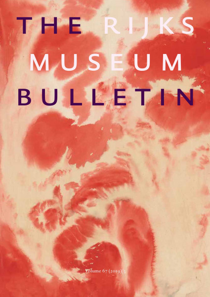2019-3 The Rijksmuseum Bulletin