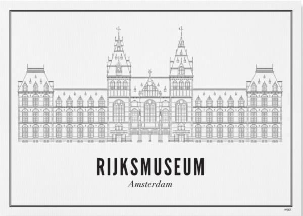 Print Rijksmuseum A4